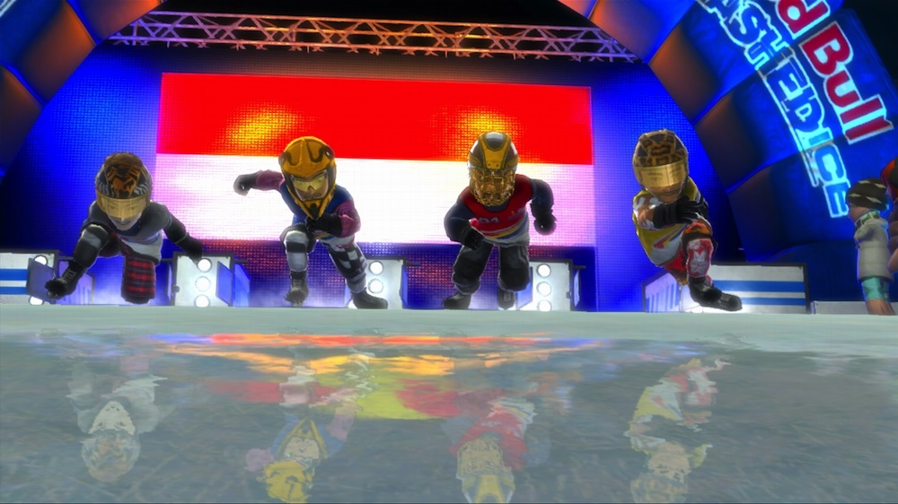 Immagine da Red Bull Crashed Ice Kinect