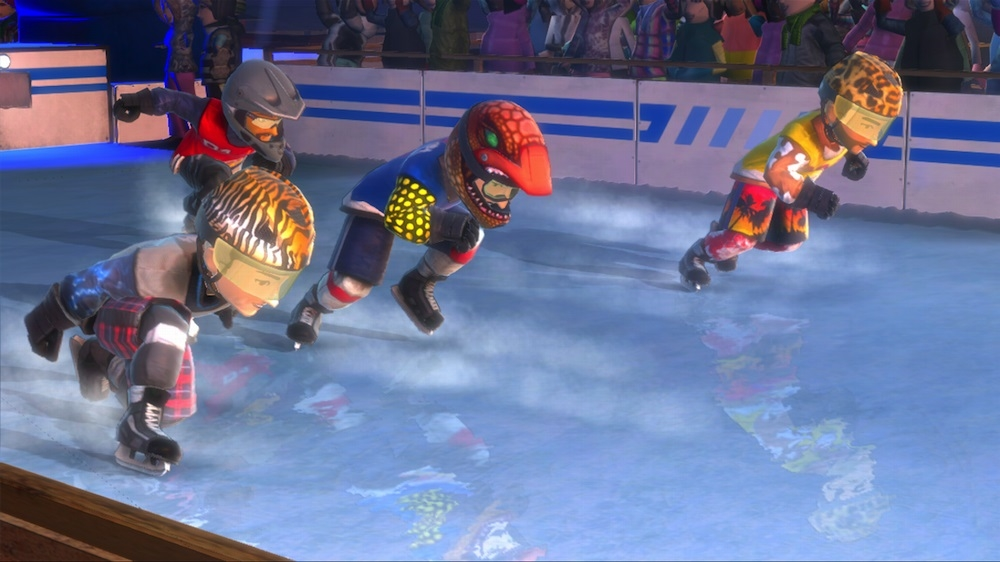 Image de Red Bull Crashed Ice Kinect