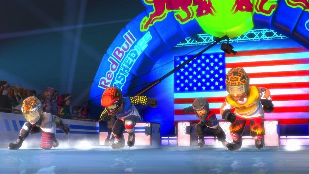 Red Bull Crashed Ice Kinect 이미지