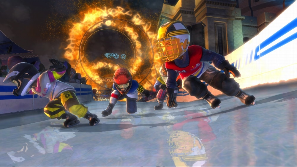 Bild von Red Bull Crashed Ice Kinect