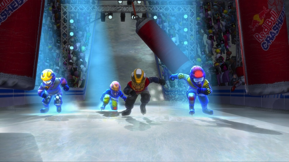 Kuva pelist Red Bull Crashed Ice Kinect