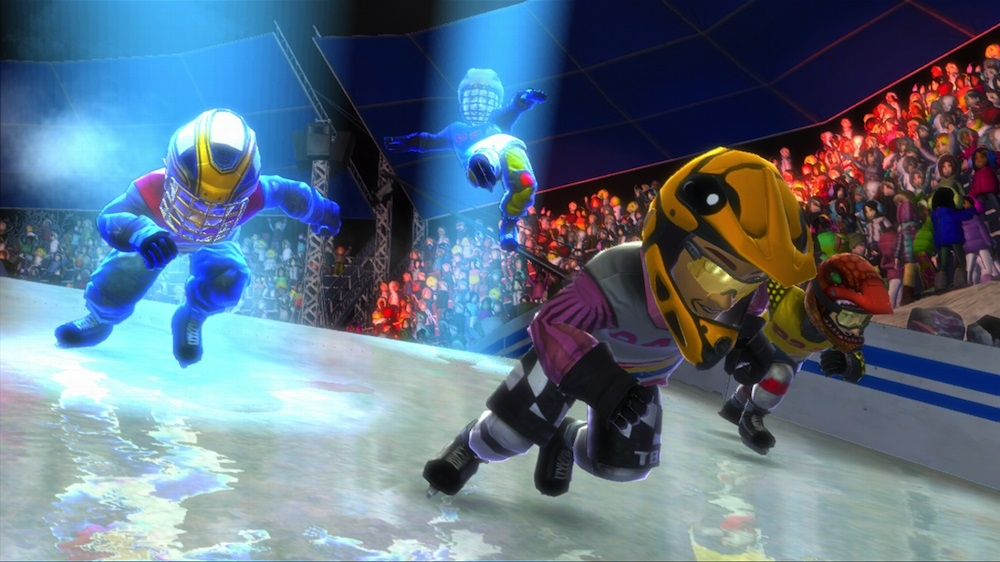 Image from Red Bull Crashed Ice Kinect