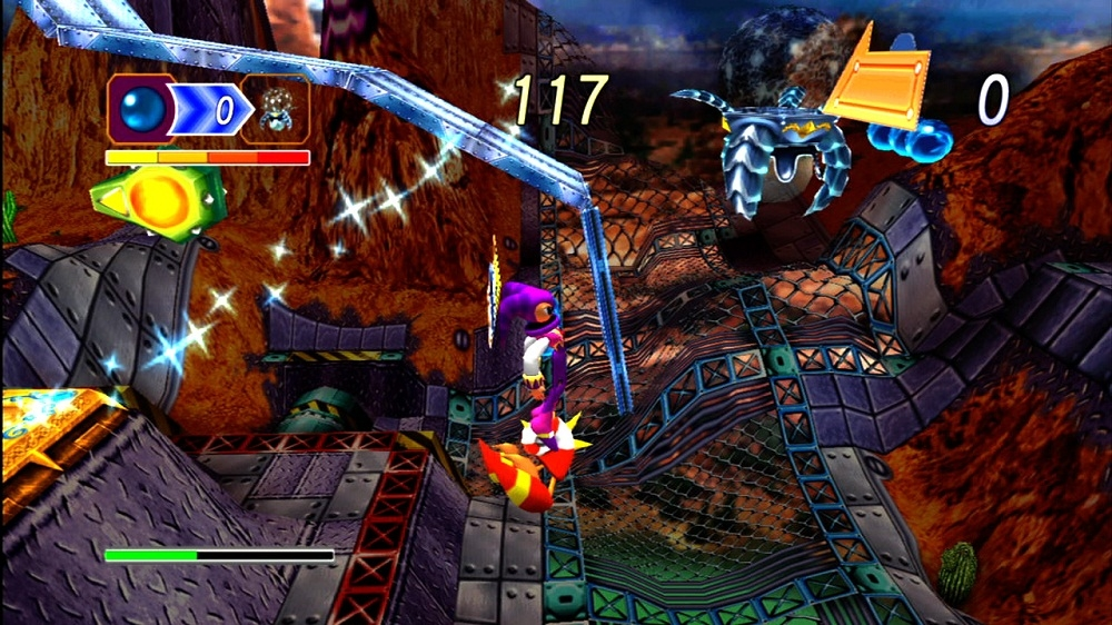 Kuva pelistä NiGHTS into dreams...