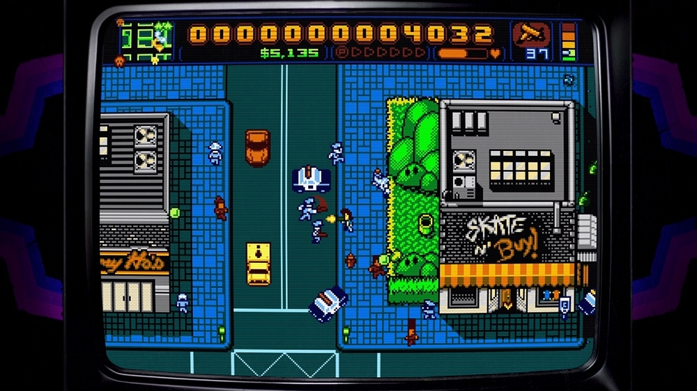 Kuva pelist Retro City Rampage