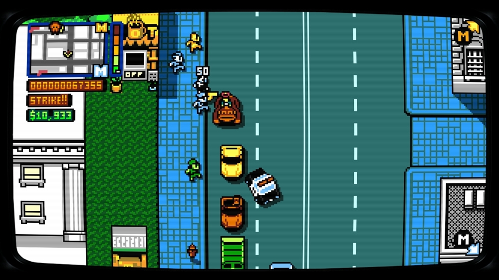Image from Retro City Rampage: DX