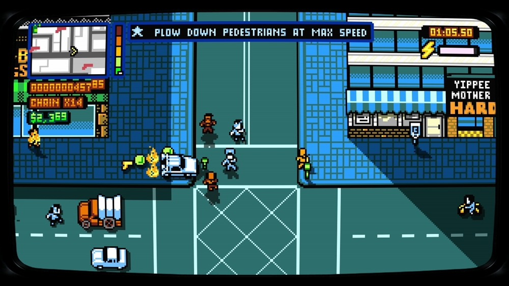 Kép, forrása: Retro City Rampage: DX