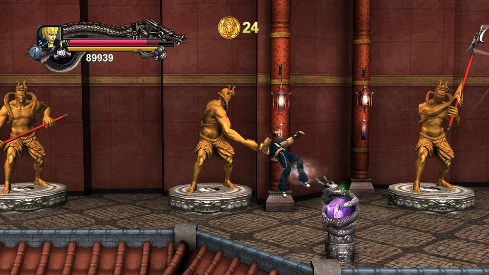 Image from Double Dragon II