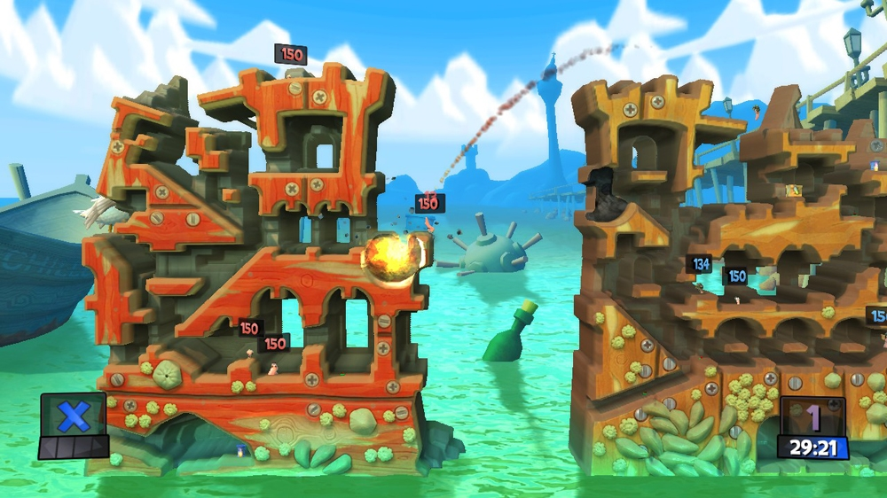 Image from Worms Revolution