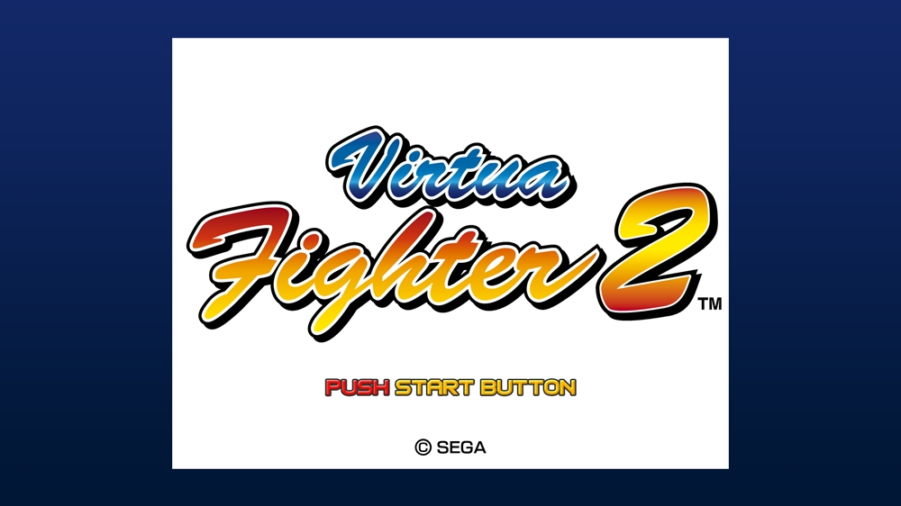 Kuva pelistä Virtua Fighter 2