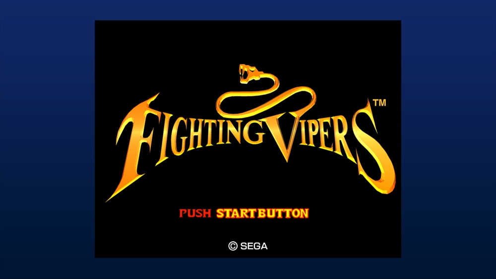 Image from Fighting Vipers