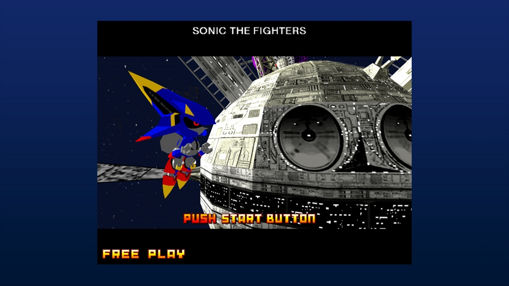 Billede fra Sonic the Fighters