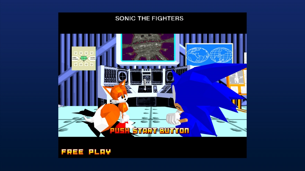 Sonic the Fighters のイメージ