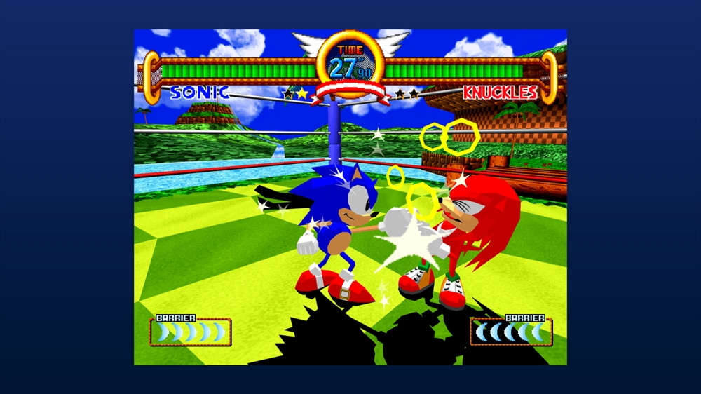 Image from Sonic the Fighters