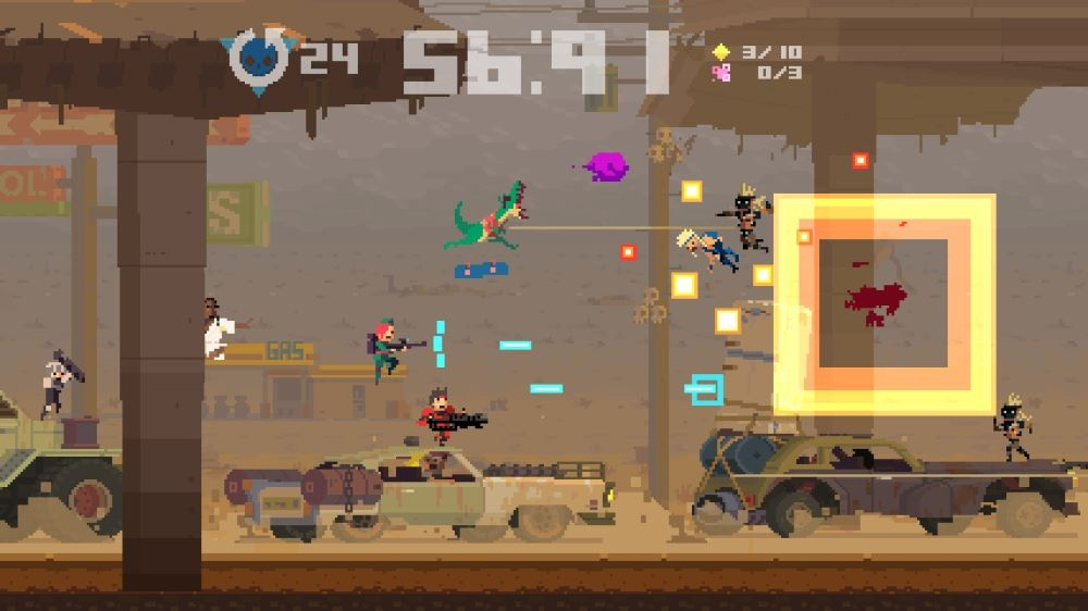 Kuva pelistä Super Time Force
