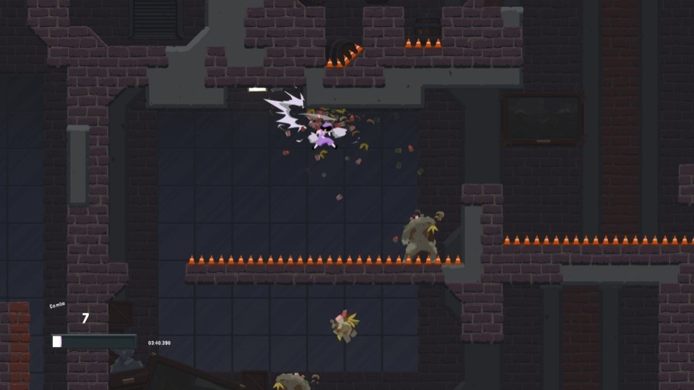 Image from Dustforce