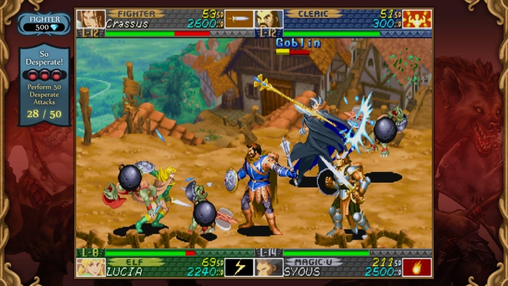 Bild från Dungeons & Dragons: Chronicles of Mystara