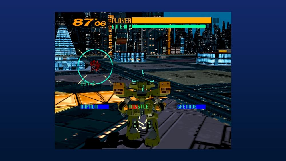 電脳戦機バーチャロン のイメージ
