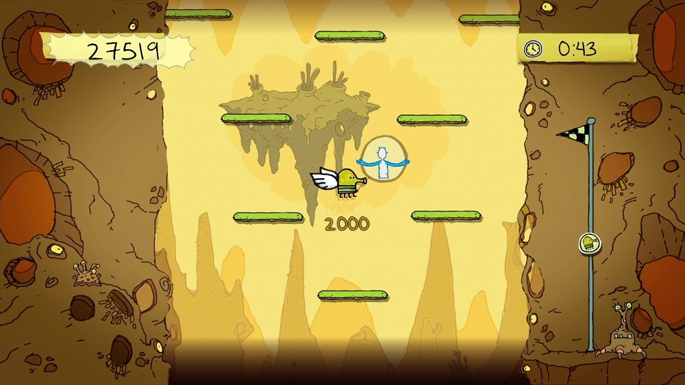 Image from Doodle Jump for Kinect™
