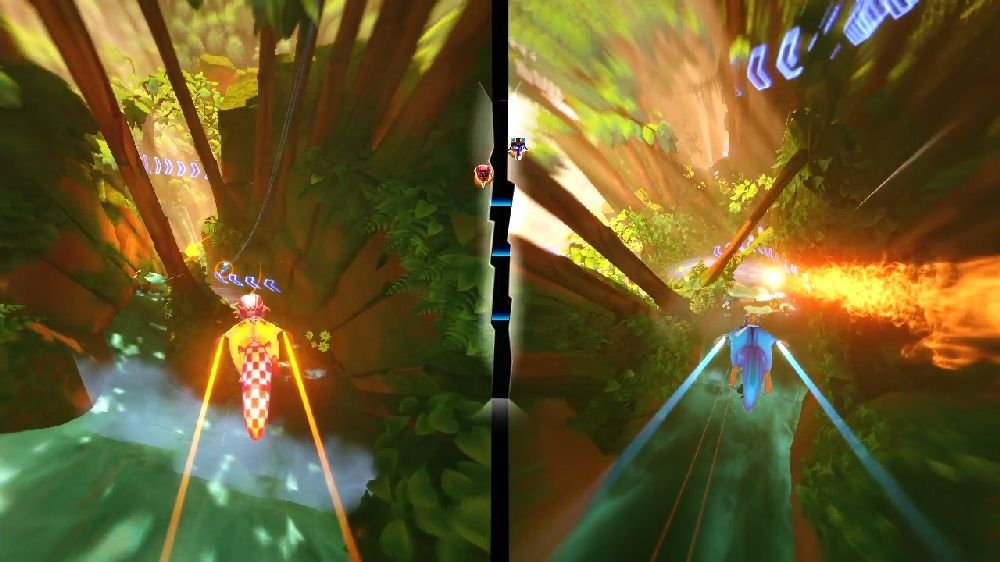 Image from Freefall Racers