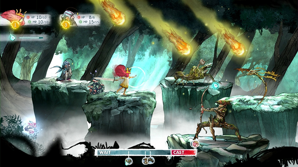 Image from Child of Light