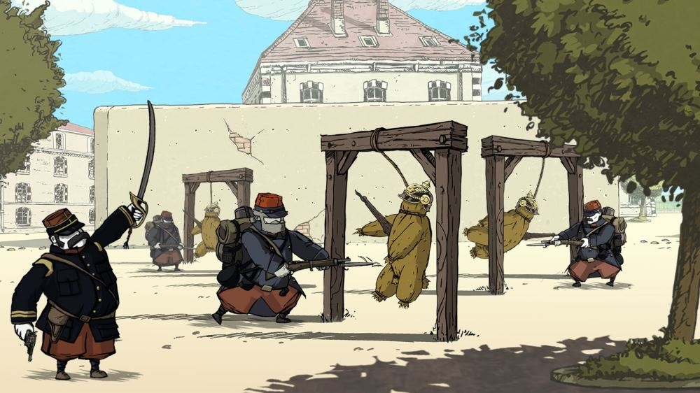 Snímek ze hry Valiant Hearts: The Great War