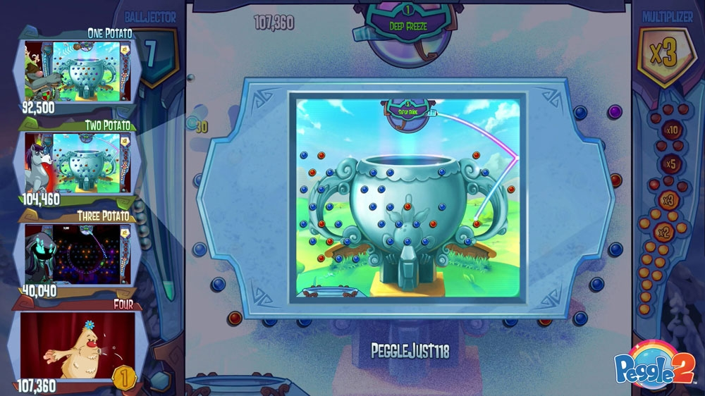 Image from Peggle ® 2