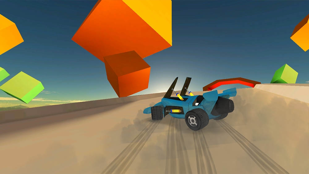 Image from Jet Car Stunts