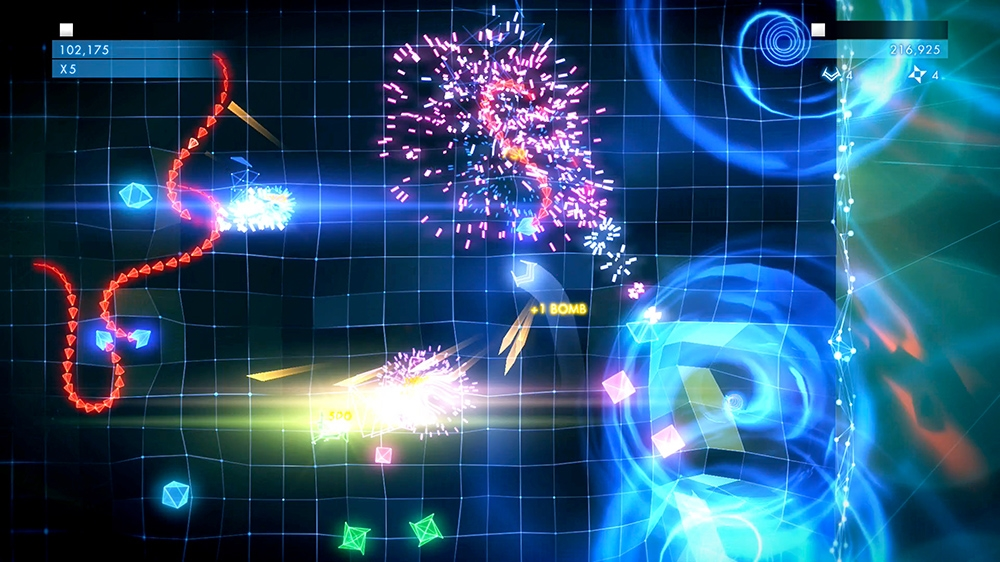 Kép, forrása: Geometry Wars™ 3: Dimensions Evolved