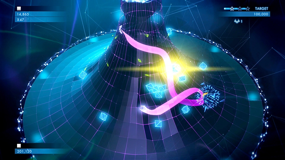 Image from Geometry Wars™ 3: Dimensions Evolved