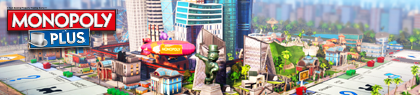 MONOPOLY PLUS Banner