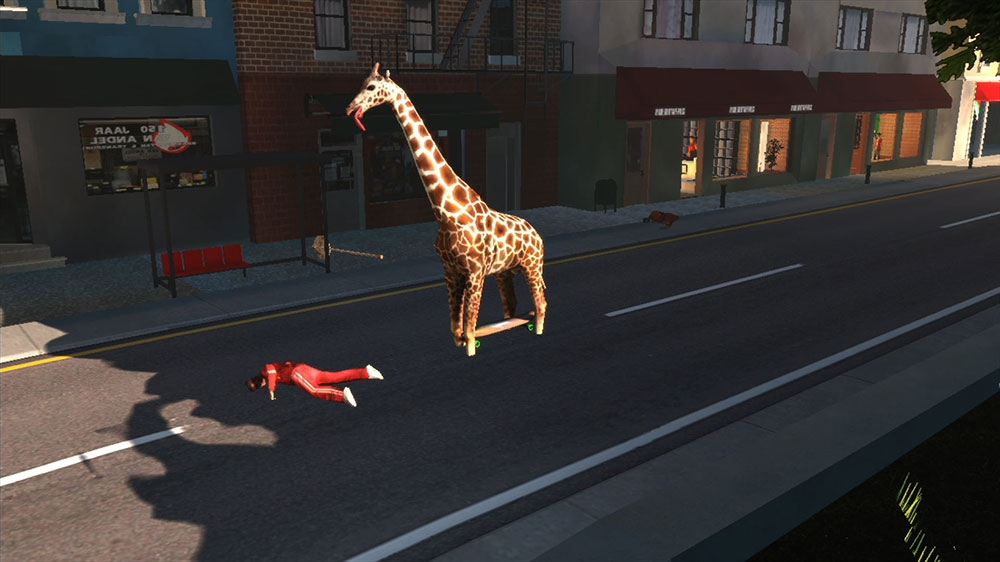 Image from Goat Simulator