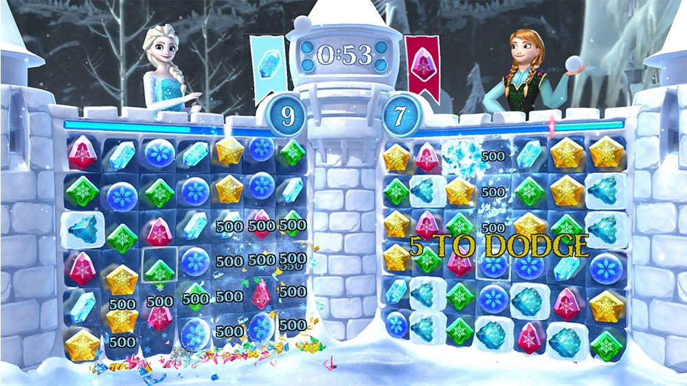Image from Frozen Free Fall: Snowball Fight