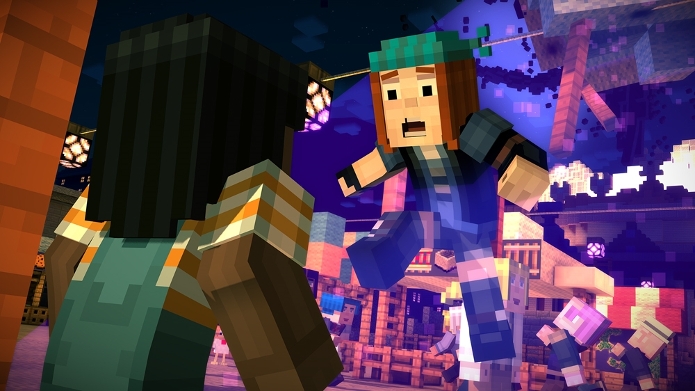 Image from Minecraft: Story Mode