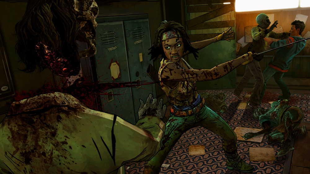 Изображение из The Walking Dead: Michonne - Ep. 1, In Too Deep