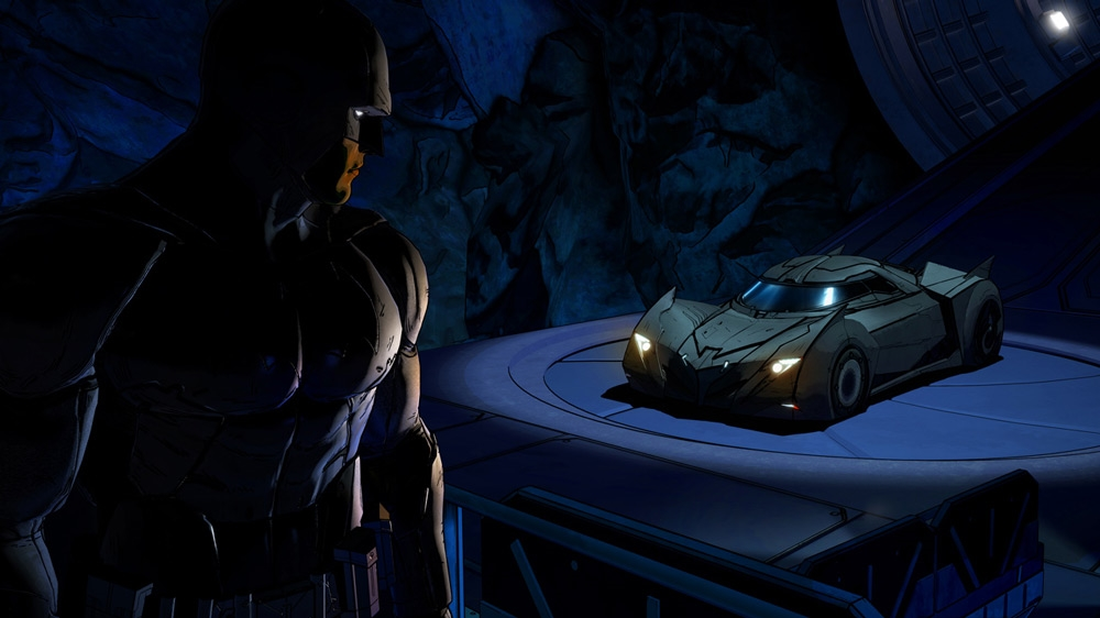 Image from Batman: The Telltale Series