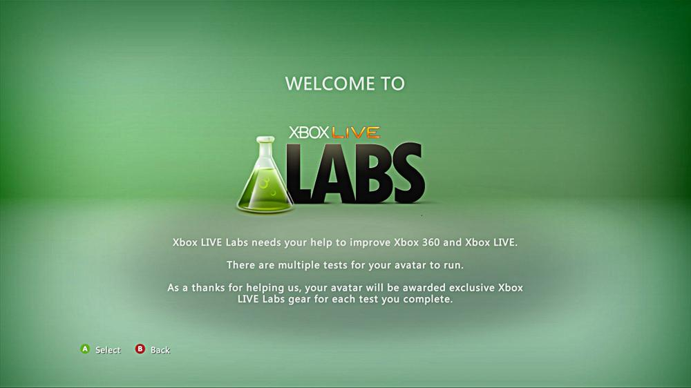 Image from Xbox LIVE Labs