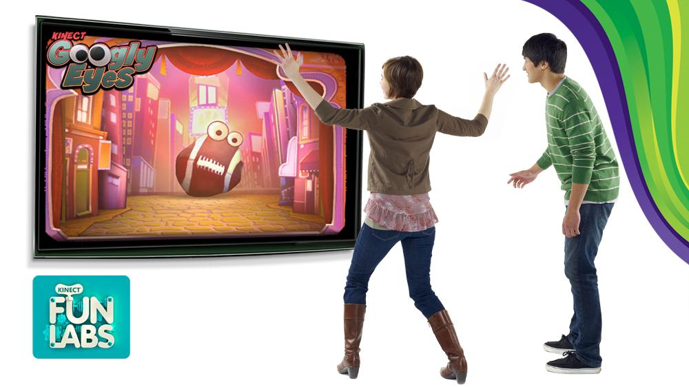 Kinect Googly Eyes 이미지