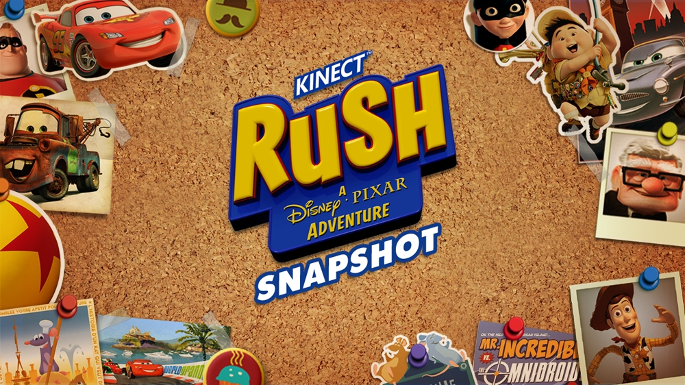Image from Kinect Rush: Snapshot