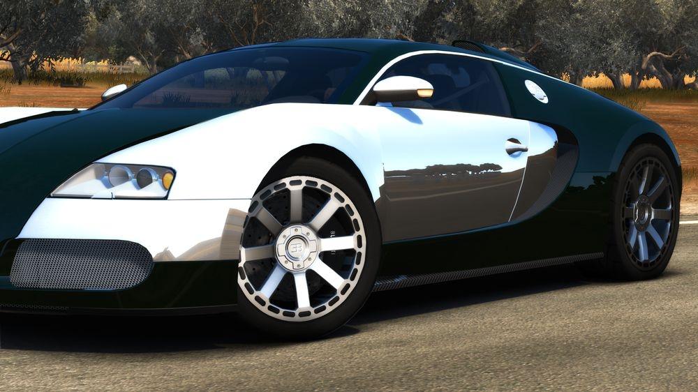Image from TDU2:Bugatti Veyron 16.4 Centenaire