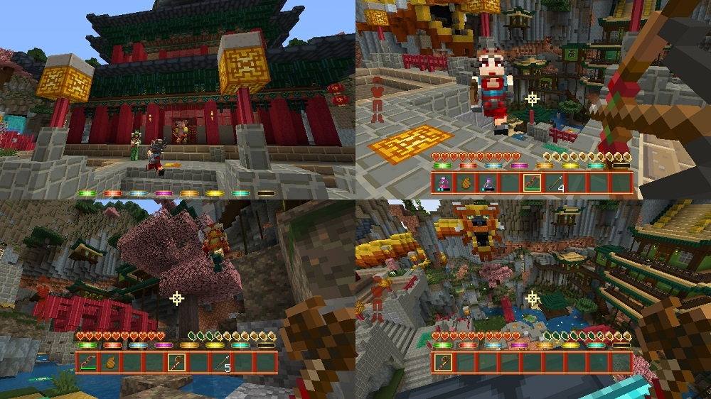 Image from Minecraft Chinese Mythology Mash-Up