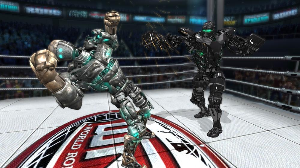 Image from REAL STEEL Trailer