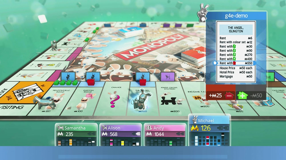 Image from MONOPOLY RABBIDS DLC