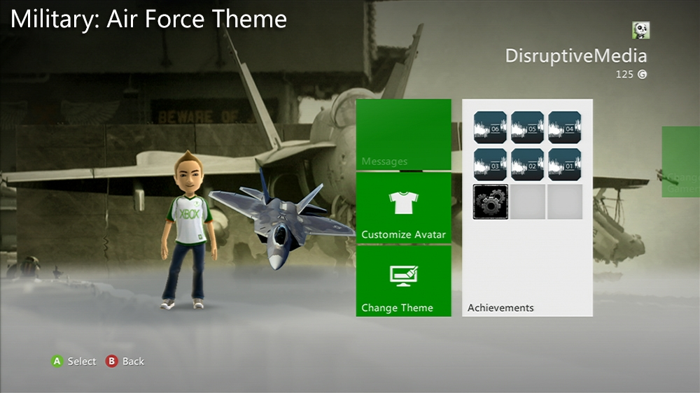 Imagen de Military: Air Force Premium Theme