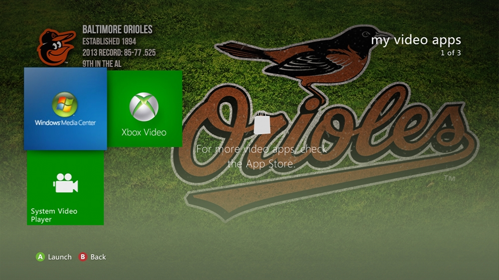 Image from MLB - Orioles Dugout Theme