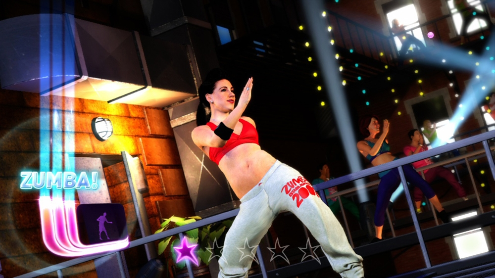 Image from Zumba Fitness Rush Launch Trailer
