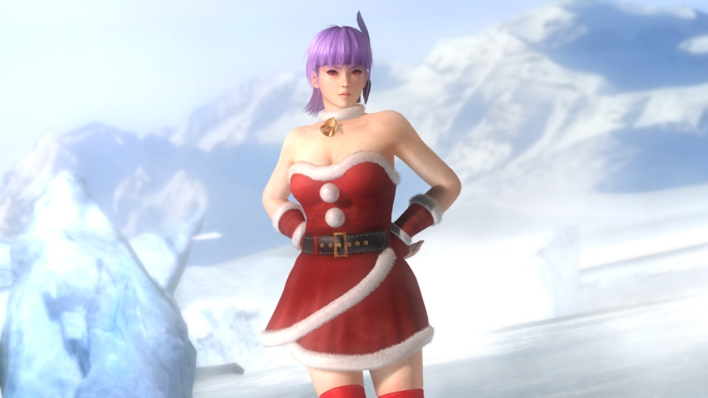 Image from Dead or Alive 5 Santa's Naughty Girls