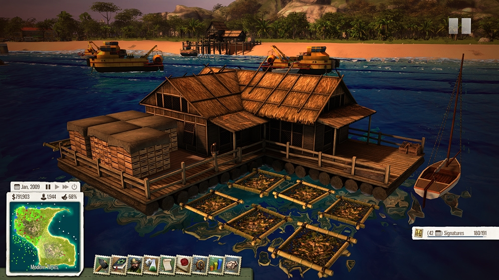 Image from Tropico 5 Waterborne