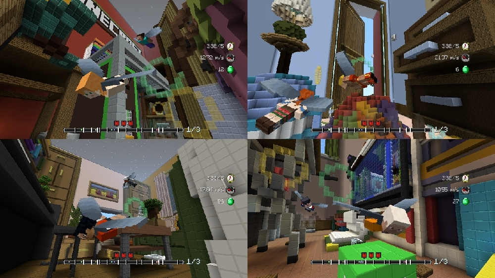 Image de Pack de circuits Vol plané Géants Minecraft