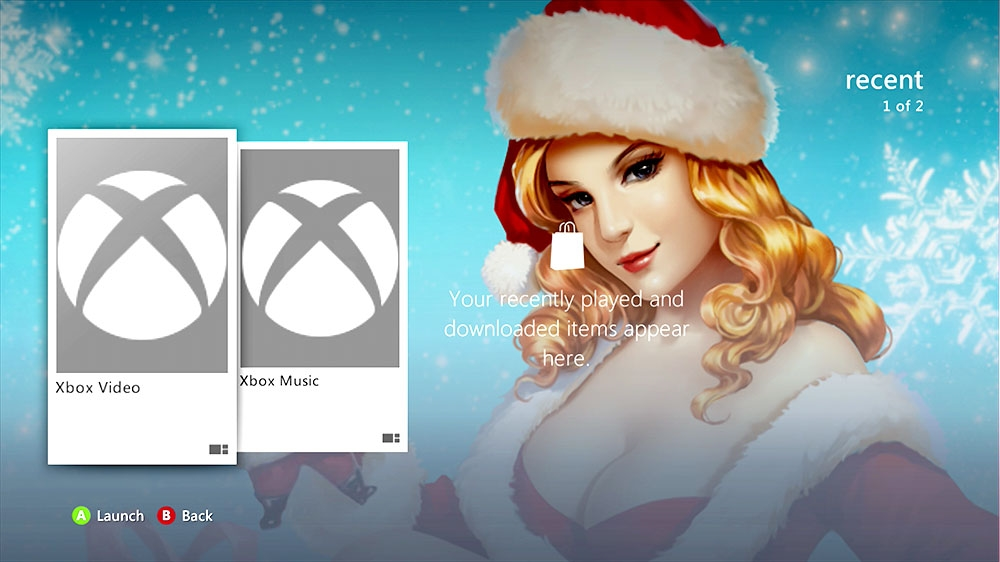 Image from Epic Xmas Pinup Snow Premium Theme