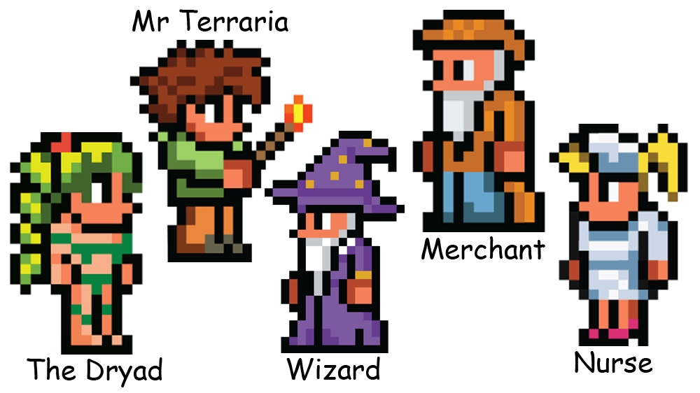 Image from Terraria – Xbox 360 Edition. Friends pack